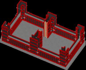 Сборная конструкция опалубки стен