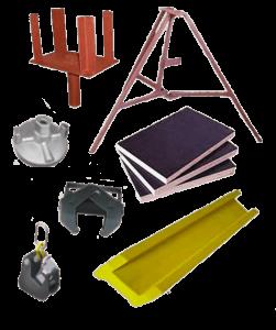 Комплектующие для систем опалубки