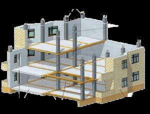 Делаем проекты раскладки для заливки перекрытий, стен, колонн
