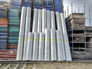 Опалубка одноразовых пластиковых колонн
