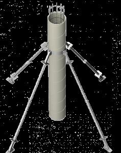 Опалубка одноразовых колонн